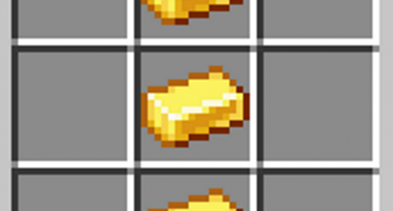 Along with an igniter made from 3 bars of gold, stacked on top of eachother