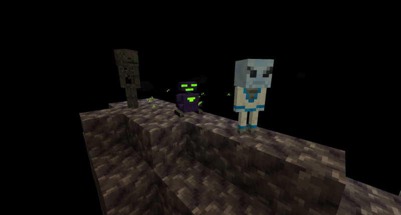 Some of the new mobs