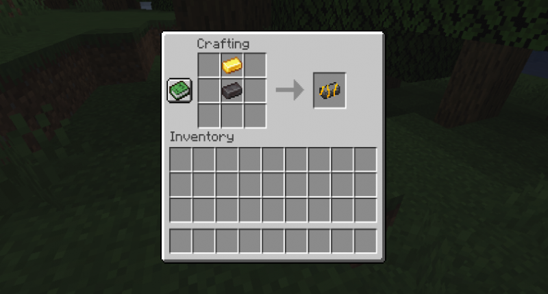 Golden Netherite Ingot Recipe