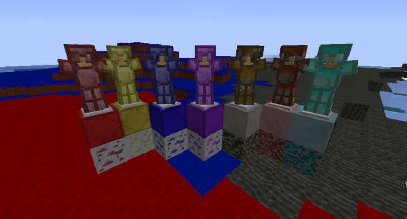 Six Ores and their Armors