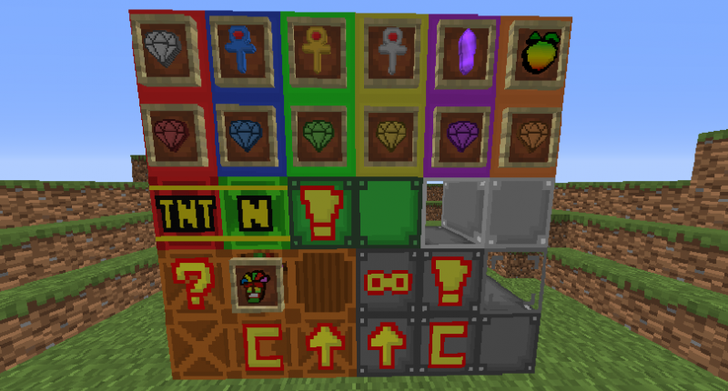 All blocks & items as of V1.2.0