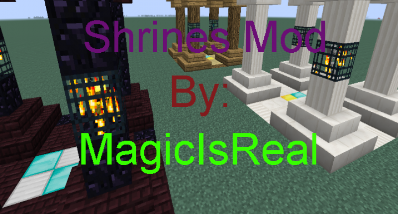 Shrines Mod By MagicIsReal