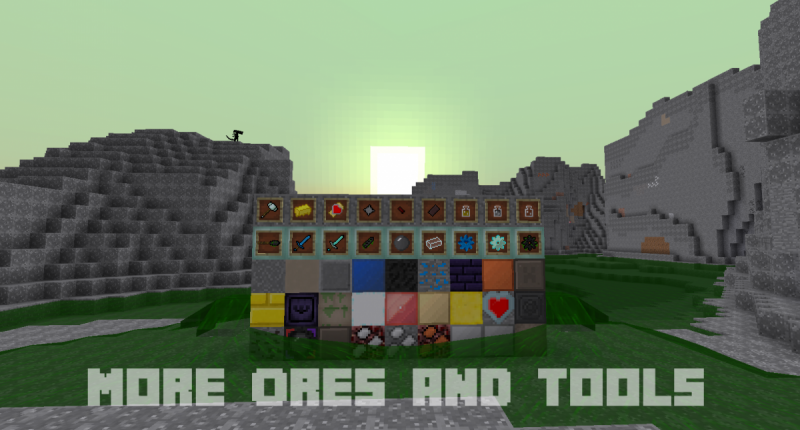 (OLD) Mo' Ore's And Tools Mod (OLD)