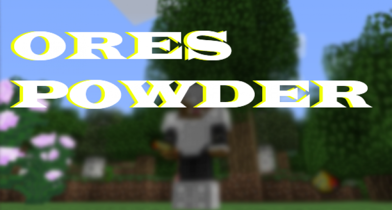 Just A OrePowder ScreenShot