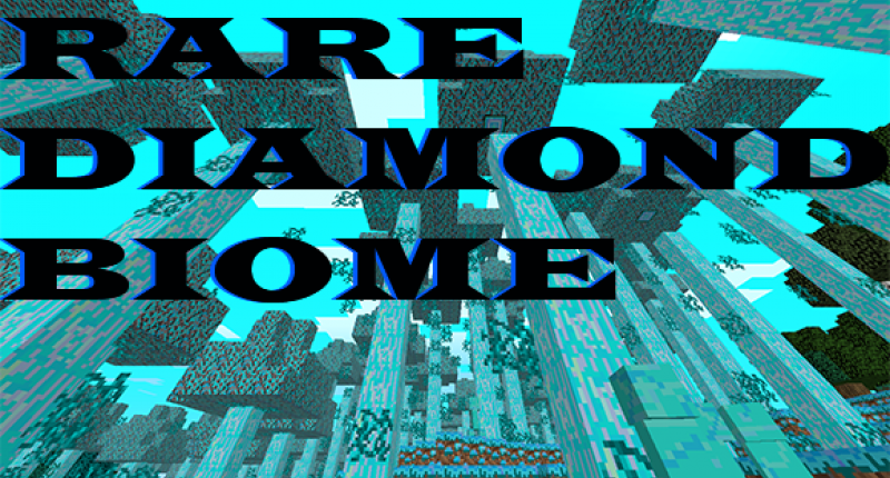 RareDiamondBiome.Just A ScreenShot Lel
